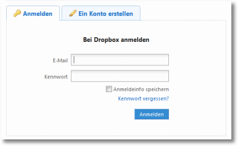 dropbox dblogin